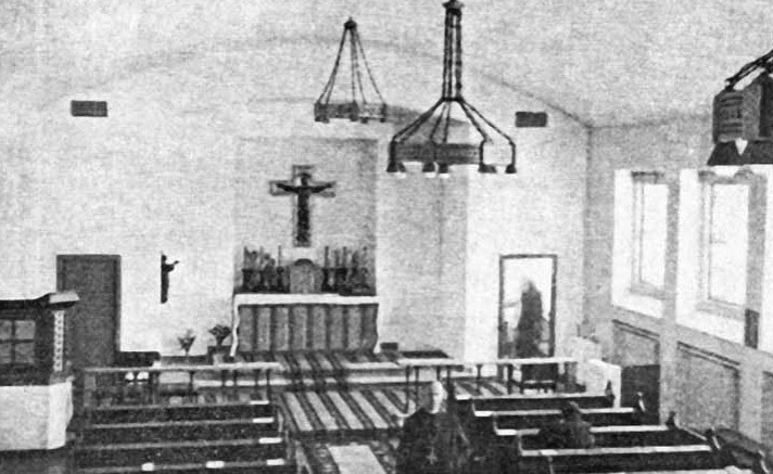 Det første Billede af Sankt Mariæ Kirke